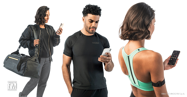 Workout Livestreams am Smartphone verfolgen, mit der Technogym Mywellness 5.0 App