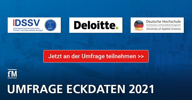 'Eckdaten der deutschen Fitness-Wirtschaft 2021' – Aufruf zur Teilnahme