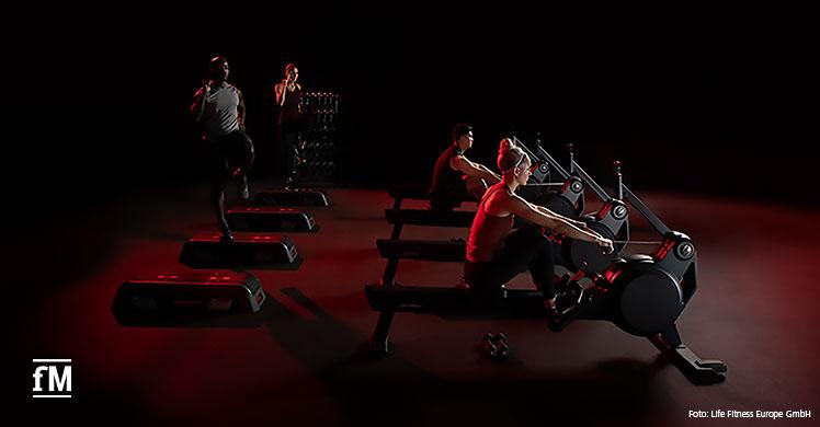 Life Fitness Heat Row und Life Fitness Heat Performance Row – zwei neue Rudermaschinen fürs Fitnessstudio.