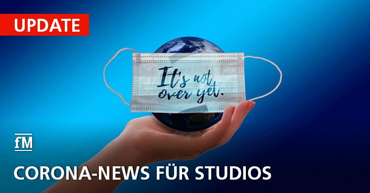 Aktuelles Corona-Update für Studiobetreiber und Mitglieder