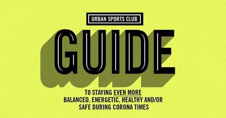 Urban Sports Club Kampagne #SafeSportsClub