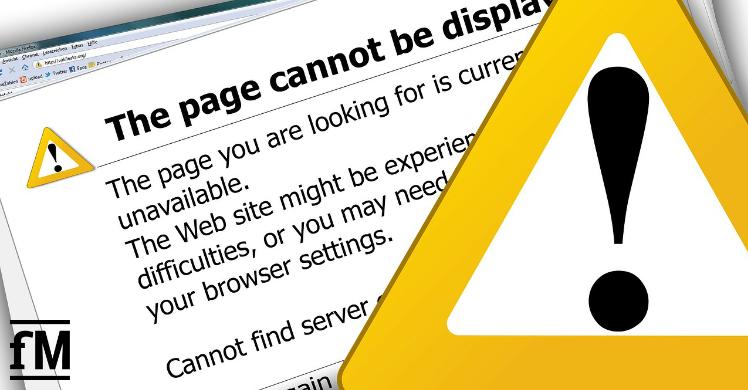 Geduld ist gefragt: Antragsplattform der Novemberhilfen wegen Überlastung häufig mit Server Error.