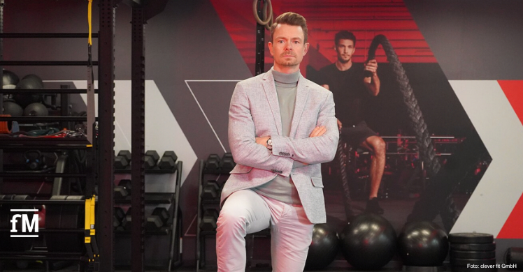 Riccardo Christ, COO clever fit GmbH, sieht die Verlängerung des Teil-Lockdown als Zerreißprobe für viele Fitnessstudios.
