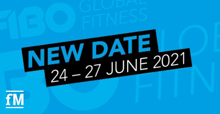 Neues Datum der Fitnessleitmesse FIBO 2021 im Sommer: 24. bis 27. Juni 2021.