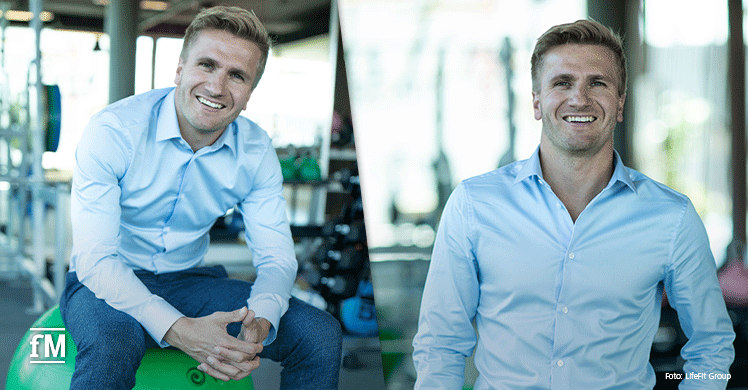 Der neue Fitness First CEO ist ein sehr angenehmer Gesprächspartner