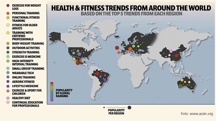 Globale vs. regionale Trends - Unterschiede im Fokus.