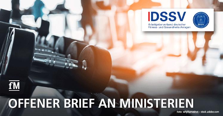 Lage ist prekär: DSSV schickt offenen Brief an die Ministerien mit einem Lagebericht der Fitness- und Gesundheitsbranche.