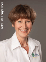 Studiobetreiberin Rosemarie Döllinger, Fitness- und Gesundheitsclub Life Competence