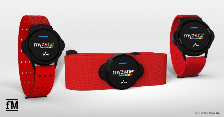 Der neue Herzfrequenz-Fitnesstracker von Myzone: MZ-Switch