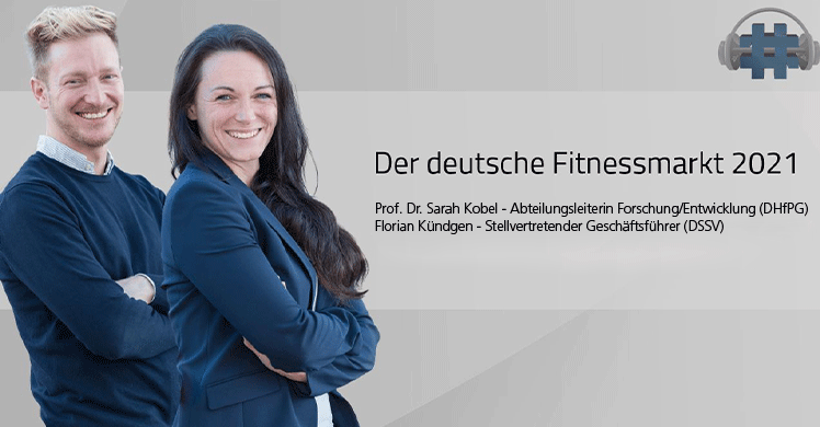 Dr. Sarah Kobel (DHfPG) und Florian Kündgen (DSSV)