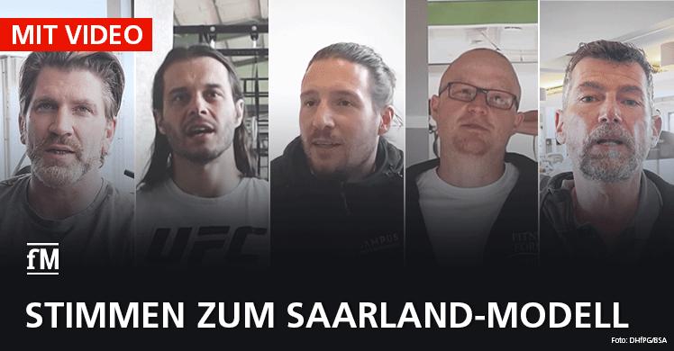 Restart Saarland I: Stimmen der Studiobetreiber zum 'Saarland-Modell' im Video.