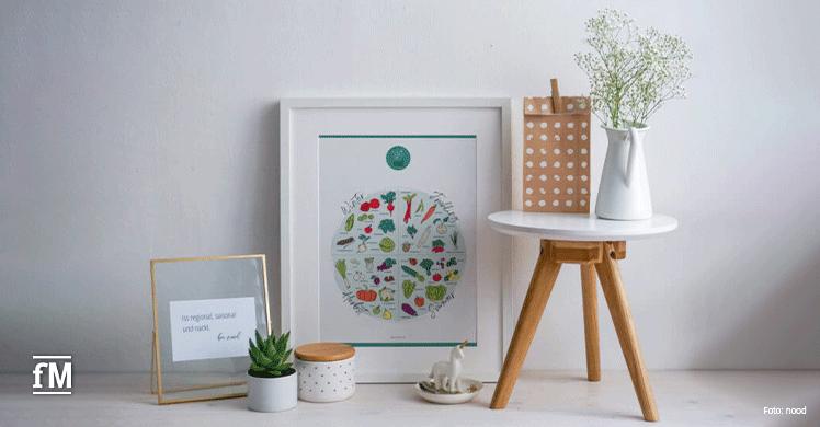 Informativ und dekorativ: Der Saisonkalender von nood.