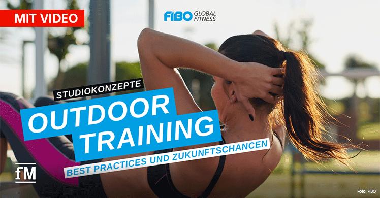 FIBO Online Seminar – Experten-Talk zum Thema Outdoor-Training im Fitnessstudio: Hype oder Trend?