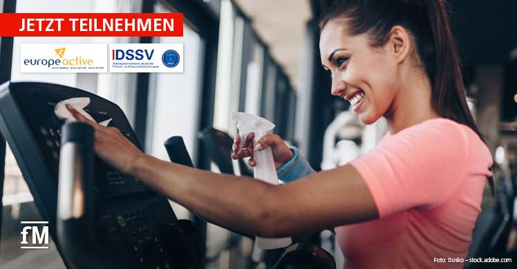 Jetzt mitmachen und EuropeAcitve bei Studie zu Coronavirus und Fitnessstudios unterstützen.