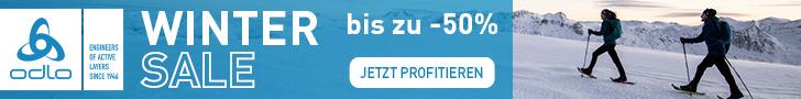 Odlo Wintersale: Bis zu -50% – jetzt profitieren!